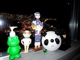 みんなで函館山へ夜景を見に行ったよ!