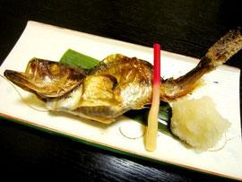 高級魚 のどぐろ塩焼き