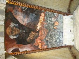 fresque d'Orosco à Guadalaraja