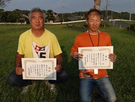 GM級入賞者 優勝秋沢俊二 2位片岡好美