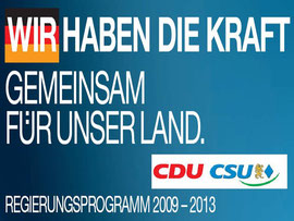 Wahlprogramm CDU/CSU