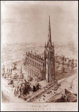 Trinity church, New-York