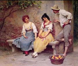 EUGENE DE BLAAS - Flirt