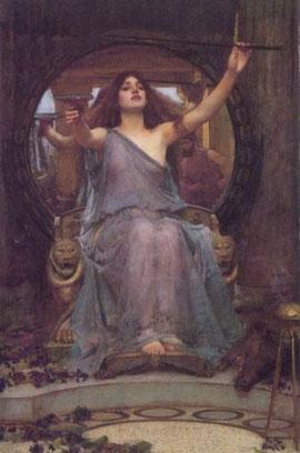 JOHN WILLIAM WATERHOUSE - Odissea - Circe offre la coppa a Ulisse