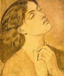 DANTE GABRIEL ROSSETTI - Ginevra (1857)