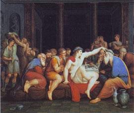 GIOVANNI BATTISTA CIGOLA - Convito di Platone
