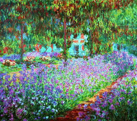 CLAUDE MONET - Giverny