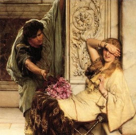LAWRENCE ALMA-TADEMA  - La timidezza