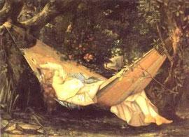 COURBET - Il sogno (1844)