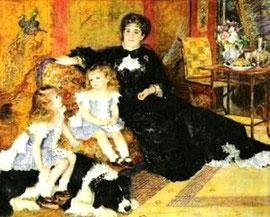 PIERRE AUGUSTE RENOIR - Il salotto di Madame Charpentier