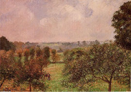 CAMILLE PISSARRO - After the rain- Autumn Eragny