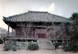 石位寺 旧本堂(薬師堂)