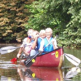 Stadtführung durch Oldenburg mit dem Kanu