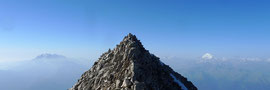 Aussicht vom Gipfel Richtung Süden