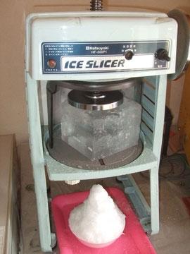 本当のかき氷と言えばやはりこれですね!!