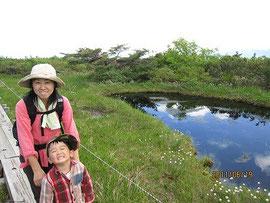 鳥原山の池塘