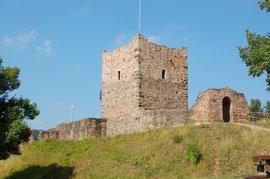 Die touristische Erschließung der Burgruine Wartenberg wurde von der EU bezuschusst