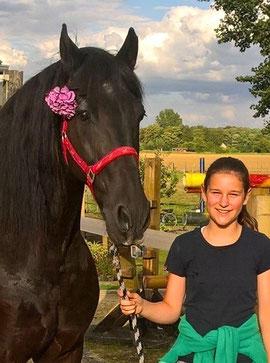 Pferdesegnung mit Charlotte