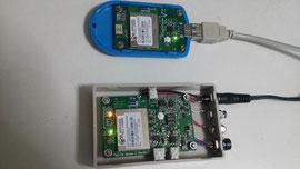 無線親機と測定子機のハードウエア