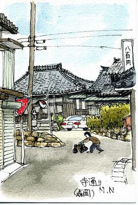寺通り(森岡)