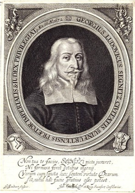 Georg Luwig Segnitz, einst Reichsvogt zu Schweinfurt