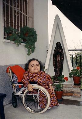 Anna Fulgida Bartolacelli , nipote del nostro Guido ...