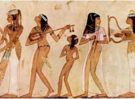 galerie time Vortrag Prof. Dr. Hussein Baher, Musik und Musizierpraxis im alten Ägypten