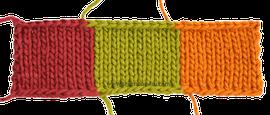 Tutorial: técnica básica para tejer en dos agujas o palitos