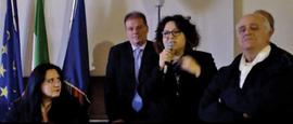 Elisa Martorana durante la presentazione.