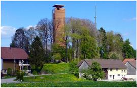 Das Ausflugsziel: Napoleonturm zu Hohenrain