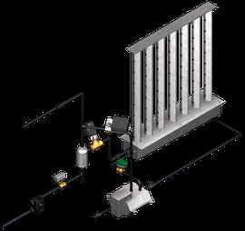 Rotasystem Direkt-Dampfbefeuchter