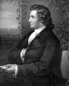 Johann Wolfgang Goethe um 1775