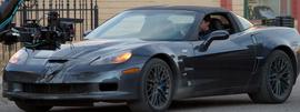 コルテスが乗るZR1。1000馬力のモンスターカー。