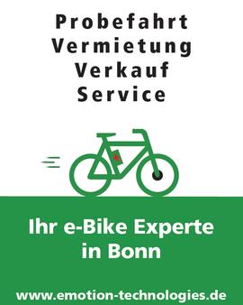 e-motion eBike und Pedelec Shop Bonn