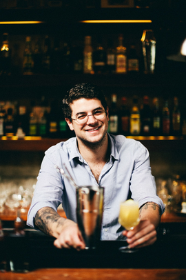 Jonas Stein - unser Barkeeper am 18.09.2016