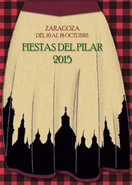 Fiestas del Pilar en Zaragoza 2015 Cartel y Programa