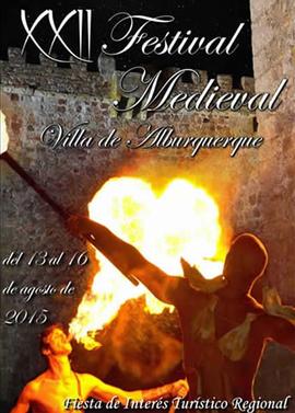 Festival Medieval de Alburquerque 2015 Cartel y Programa