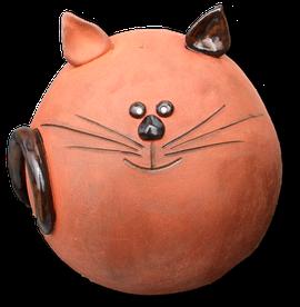 Katze handgefertigt