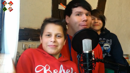 Fabi, Laurin und Chrosantos a.k.a. SkopLP
