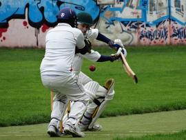 A.Lakkaraju ('keeper) & C.Corlett (batsman)