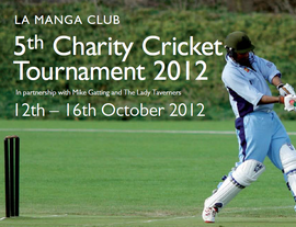 La Manga 5th Charity Cricket (12-16.10.2012)