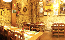 El primer sopar de socis es va fer al Tasca & Vins
