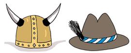 Wikingerhelm oder Tirolerhut?