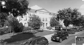 Dekanatsgebäude (Q: Google - für Karte aufs Bild klicken!)