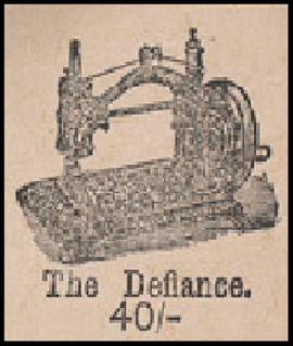 extract from an advert from 1880