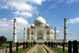 Imagen del Taj Mahal