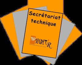 Cliquez sur Secrétariat technique - Top Secret'R
