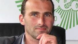 Sébastien Amand, Président de la FDSEA de la Manche