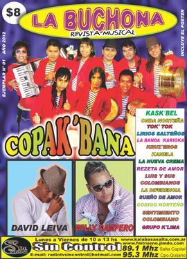 Esta es la revista esta en todos los kiosco de revista de Salta