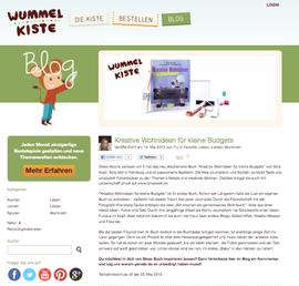 Kreative Wohnideen für kleine Budgets, Wummelkiste, Basteln für Kinder, Bastelkiste, Gewinnspiel, gewinne